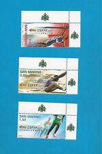 San Marino 2304-2306 Complete eckränder Luxury **!!!