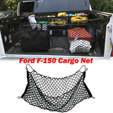 Truck Bed Envelope Style Trunk Mesh Cargo Net for Ford F-150 2015-2019