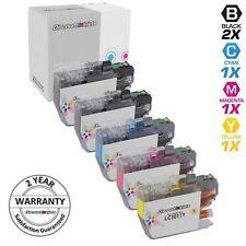 5pk for Brother LC3011 Black & Color Set Inkjet Cartridge MFC-J690DW MFC-J895DW