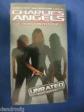 NEW Charlie's Angels: Full Throttle (VHS, 2003, Unrated Version) 043396024199