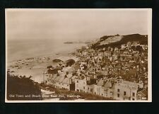 Sussex HASTINGS Old Town from East Hill RP PPC by Welch & Sons
