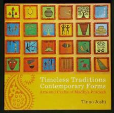 BOOK Indian Folk Art Madhya Pradesh jewelry zardozi embroidery textile craft