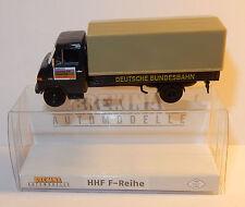 rare BREKINA HO 1/87 TRUCK HANOMAG HENSCHEL F 55 BACHE DEUTSCHE BUNDESBAHN BUND