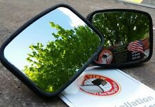 Two (2) Maxi View Blind Spot Mirror - Lane Change Mirror  - Made in The USA