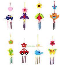 Kids Child DIY Wind Chimes Aeolian Bells Educational Puzzle Toys Craft Kits PRO#