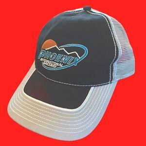 PHOENIX  INTERNATIONAL  RACEWAY ... NASCAR ... Black  &  Gray  Hat ... NEW