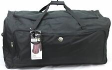 "XXL 34"" Wheeled Cargo Bag Sports Holdall Travel Luggage Weekend Business Case UK"