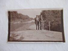 Photographie 11,5x7 cm, La Redorte - le canal du midi 1935 (Aude) (11)