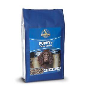 Dog & Field Puppy+ with Chicken & Rice Hypoallergenic Puppy Food 1kg & 12kg Bags