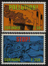 Surinam / Suriname 1994 Vervuiling pollution verunreinigt encrassement MNH