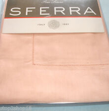 Sferra PICCO King Pillow Sham Petal Pink Egyptian Cotton Voile New
