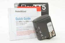 Used PocketWizard FlexTT5 TTL Flash Transceiver for Canon **MINT**