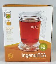 Adagio Teas 16 oz. ingenuiTEA Bottom-Dispensing Teapot Maker 16-oz BPA Free NIB