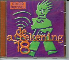 CD : De Afrekening 18 (Studio Brussel)