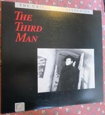 The Third Man 1988 Laserdisc Classic Movie,Orson Welles,Joseph Cotton,Chapters