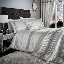 Glamourous Diamante Pearl King Duvet Cover Set