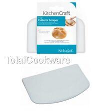 KitchenCraft Best Dough Cutter and Scraper, Pastry, Bread, Pizza Etc.