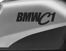 BMW C1 motorbike bike logo decals CUSTOM COLOUR Vinyl Sticker - Upto 18cm wi
