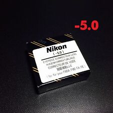 Nikon Diopter-Adjustment -5 Eyepiece Correction Lens for FM3A NewFM2 FA FE2 New