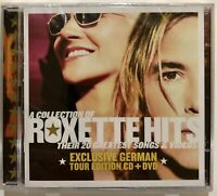 A Collection of ROXETTE HITS | Rare German Tour Edition CD + DVD | NEW, Sealed