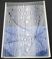 Victor VASARELY Deep Kinetic original OP art object 3-d Silkscreen from 1971