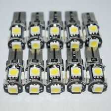 10 T10 Led Canbus Error Free 5 SMD Car Side Wedge light Bulb White 168 194 W5W
