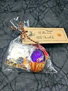 Halloween Hot Chocolate Gift Set Sweets Party Birthday Christmas