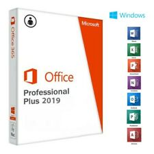 Microsoft Office 2019 Pro Plus for Windows 10 only NO ACTIVATOR/NO SUBSCRIPTION