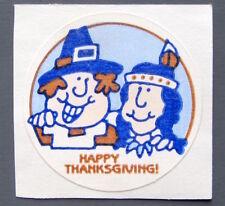 Vintage TREND Stinky Stickers PILGRIM matte Scratch-N-Sniff sticker - No TM