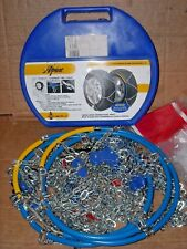 Alpine Tire Snow Chains, Stock # 1355 - Never Used - Made in Italy