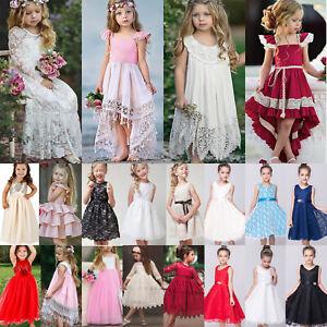 Blumenkinder Kleid In Madchen Artikel Fur Besondere Anlasse Gunstig Kaufen Ebay
