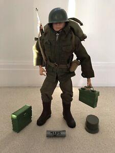 Vintage Action Man Combat Soldier Uniform, Fully Accessorised 1960's  L@@k