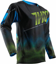 Jersey de motocross Thor color principal azul