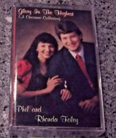 """Phil and Rhonda Foley """"Glory In The Highest"""" SEALED NM CASSETTE CHRISTMAS"""