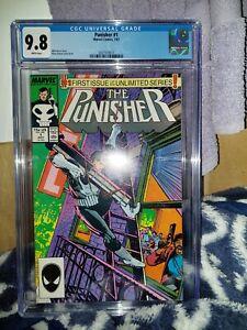 Punisher #1 1987 CGC 9.8