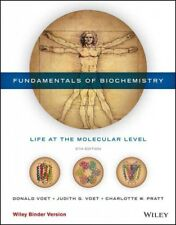 Fundamentals of Biochemistry : Life at the Molecular Level, Paperback by Voet...