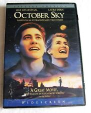 OCTOBER SKY  (DVD, 2005, ( SPECIAL EDITION WIDESCREEN ) NEW& FACTORY SEALED