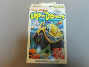 (N) Bally Midway Up 'n Down Commodore 64 Cartridge