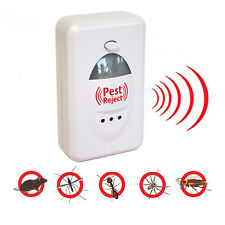 PEST REJECT REPELENTE ANTI PLAGAS ROEDORES INSECTOS ELECTRICO ULTRASONIDOS
