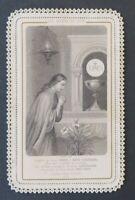 CANIVET Adieux du Soir BONAMY 56 Image Pieuse HOLY CARD 19thC Santino 4