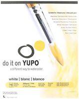 Yupo Paper Yupo Paper 11-inch x 14-inch 10 Sheets/Pkg-White 74lb, Other, Multico