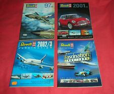 4 CATALOGUE REVELL YEARS/AÑOS    '97/98 - 2001/02 - 2002/03 - 2004/2005