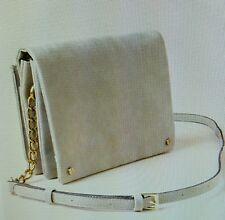 Harper Distressed Crossbody Bag...zippers, pockets, pouches..WHOOPPEE!