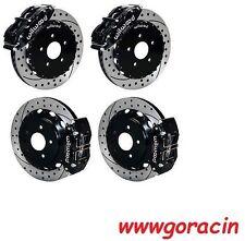 "Wilwood Disc Brake Kit,FITS 09-13 NISSAN 370Z,08-12 G37,07-08 G35,14/13"" Drilled"