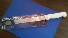 "10"" SCALLOPED BREAD KNIFE COMMERCIAL DEXTER HIGH CARBON STEEL/NSF APPROVED"