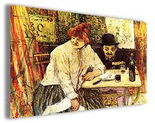 Quadro moderno Henri de Toulouse Lautrec vol I stampa su tela canvas famose