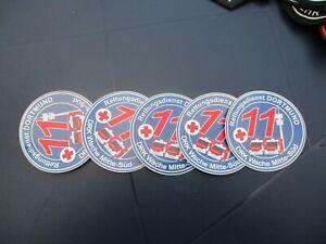 Sticker DRK Dortmund Rettungsdienst, Rotes Kreuz, Sanitäter, RTW