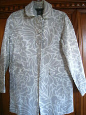 Vintage George Spring Coat Womens Sz S 4-6 Designed by Mark Eisen Euc