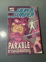 Silver Surfer - Parable by Stan Lee & Moebius (Marvel Comics)