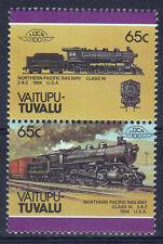 TUVALU VAITUPU LOCO 100 NP RAILWAYS CLASS W LOCOMOTIVE US STAMPS MNH